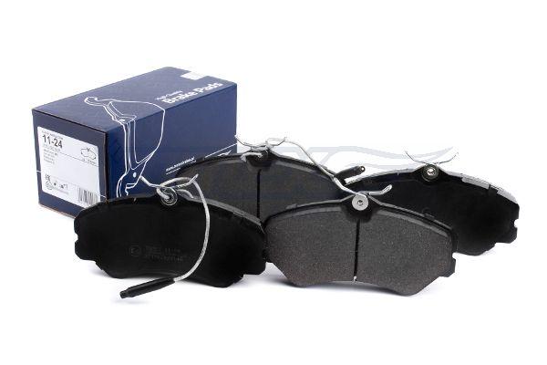 TOMEX brakes  TX 11-24 Bremsbelagsatz, Scheibenbremse Breite: 144,9mm, Höhe: 71,6mm, Dicke/Stärke: 19,5mm
