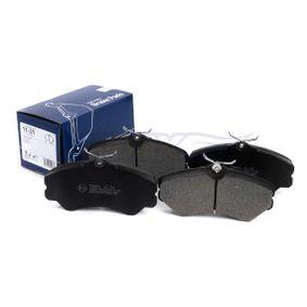Bremsbelagsatz, Scheibenbremse Höhe: 71,6mm, Dicke/Stärke: 19,5mm mit OEM-Nummer 9945076