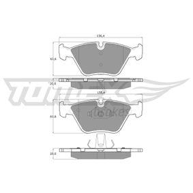 Bremsbelagsatz, Scheibenbremse TX 13-20 X3 (E83) 2.0 d Bj 2006