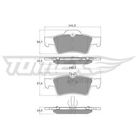 Fékbetét készlet, tárcsafék TX 14-30 E-osztály Sedan (W211) E 220 CDI 2.2 (211.006) Év 2007