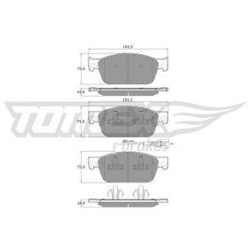 Bremsbelagsatz, Scheibenbremse Breite: 193,3mm, Höhe: 75mm, Dicke/Stärke: 18mm mit OEM-Nummer 7E0698151