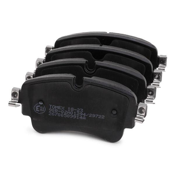 Disk Pads TOMEX brakes TX 18-23 5901646646926