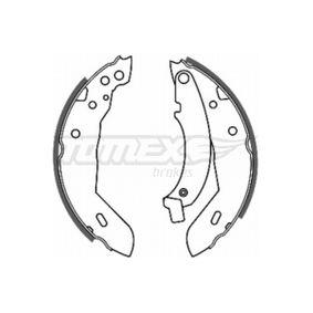 Bremsbackensatz Breite: 42mm mit OEM-Nummer 7701205312