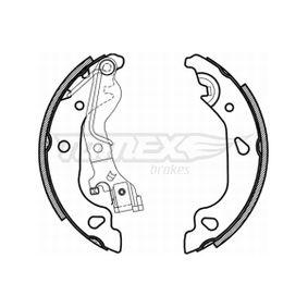 Brake Shoe Set TX 21-59 PUNTO (188) 1.2 16V 80 MY 2004