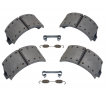 OEM Brake Shoe Set 3.434.3653.00 from SAF