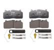 Brake Pad Set, disc brake 3.057.0096.01 OEM part number 3057009601
