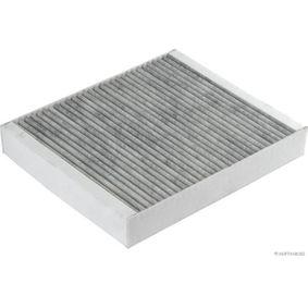 Filter, Innenraumluft Länge: 239,5mm, Breite: 204mm, Höhe: 35mm mit OEM-Nummer 13 27 1191