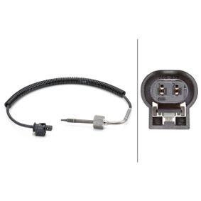 Sensor, Abgastemperatur Kabellänge: 410mm, 2-polig mit OEM-Nummer A0071539028