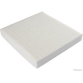 Filter, Innenraumluft Länge: 234mm, Breite: 223mm, Höhe: 28mm mit OEM-Nummer 80292SDAA01