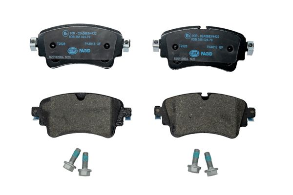 Disk brake pads HELLA 22309 rating
