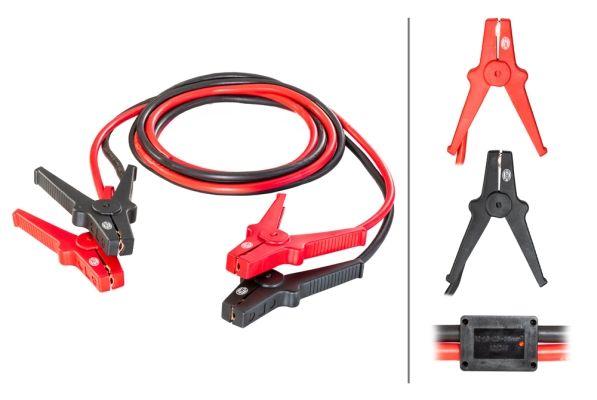 HELLA  8KS 236 689-001 Akkumulátor töltő (bika) kábelek