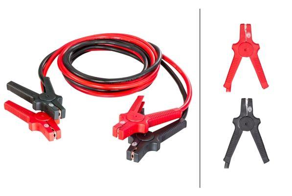 HELLA  8KS 236 690-001 Akkumulátor töltő (bika) kábelek