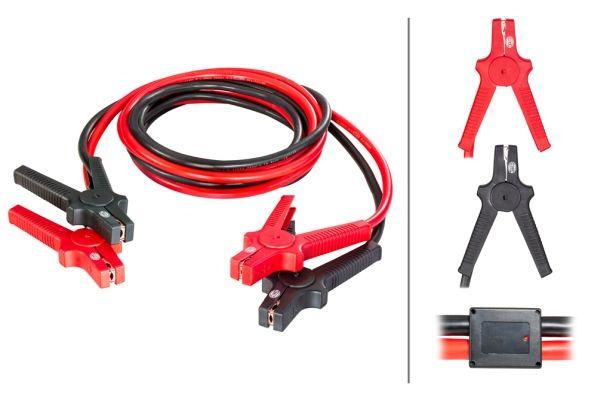 HELLA  8KS 236 691-001 Akkumulátor töltő (bika) kábelek