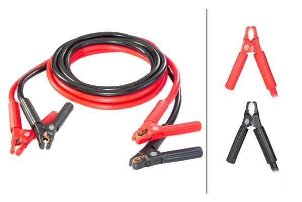 HELLA  8KS 236 693-001 Akkumulátor töltő (bika) kábelek