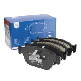 Bremsbelagsatz, Scheibenbremse Breite 1: 181,4mm, Breite 2: 180,1mm, Höhe 2: 75,0mm, Dicke/Stärke 1: 18,4mm, Dicke/Stärke 2: 18,8mm mit OEM-Nummer 31499906