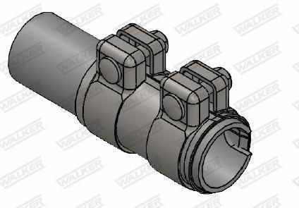 WALKER  82166 Rohrverbinder, Abgasanlage