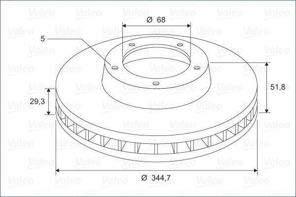 Brake Rotors VALEO 197689 rating