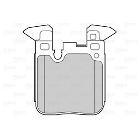 Brake Pad Set, disc brake 302266 3 Saloon (F30, F80) 320d 2.0 MY 2014