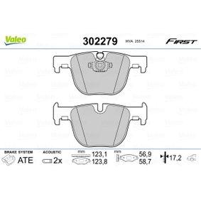 Brake Pad Set, disc brake 302279 3 Saloon (F30, F80) 335i 3.0 MY 2014