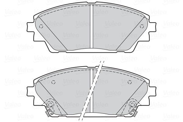 Disk brake pads VALEO 302285 rating