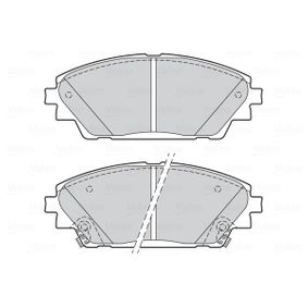 Brake Pad Set, disc brake Width: 142,1mm, Height: 55,4mm, Thickness: 15,8mm with OEM Number BHY1-33-28ZA