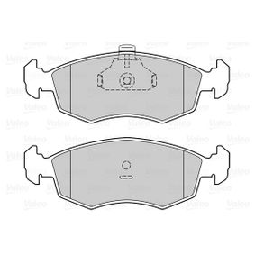 Bremsbelagsatz, Scheibenbremse Breite 1: 151,6mm, Höhe 1: 52,7mm, Dicke/Stärke 1: 18,5mm mit OEM-Nummer 9 949 125