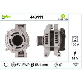 Lichtmaschine Rippenanzahl: 6 mit OEM-Nummer 27060-0R071