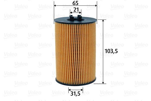 Motorölfilter 586617 VALEO 586617 in Original Qualität