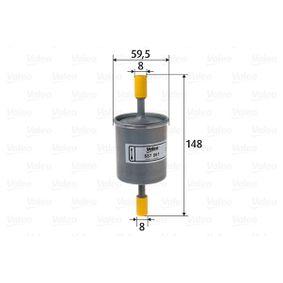 Filtro combustible 587061 KALOS 1.4 ac 2008