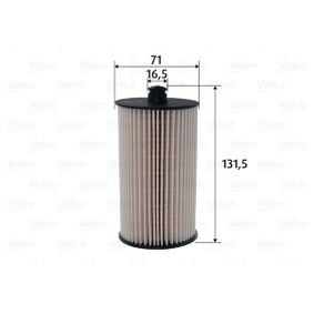 Fuel filter Height: 131,5mm with OEM Number 2E0127177