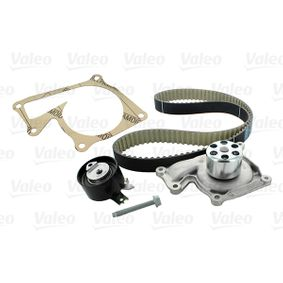 Water pump and timing belt kit 614561 Clio 4 (BH_) 1.5 dCi 110 MY 2019