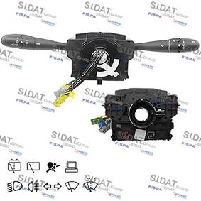 Steering Column Switch Number of connectors: 16, with board computer function, with fog-lamp function, with high beam function, with light dimmer function, with rear wipe-wash function, with wipe interval function, with wipe-wash function with OEM Number 96530927XT