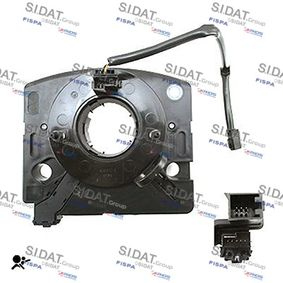 Steering Column Switch Number of Poles: 20-pin connector, with cruise control with OEM Number 1J0 959 654 AC