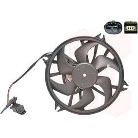 Fan, radiator 4060747 407 SW (6E_) 2.0 HDi MY 2009