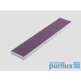 Filter, Innenraumluft Länge: 535mm, Breite: 110mm, Höhe: 25mm mit OEM-Nummer 1125 536