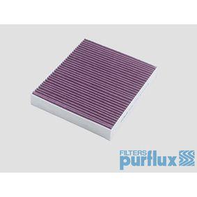 Filter, Innenraumluft Länge: 240mm, Breite: 204mm, Höhe: 35mm mit OEM-Nummer 13 271 191