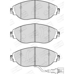 Brake Pad Set, disc brake Height 1: 70mm, Thickness: 19,9mm with OEM Number 5Q0 698 151G