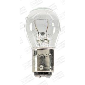 Lámpara, luz intermitente transparente 12V 24W, W5W, BA15d CBM71S