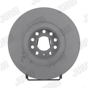 JURID  562175JC-1 Bremsscheibe Bremsscheibendicke: 30mm, Lochanzahl: 10, Ø: 323mm