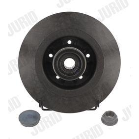 JURID  562378J-1 Bremsscheibe Bremsscheibendicke: 11mm, Lochanzahl: 5, Ø: 274mm