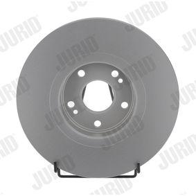 Bremsscheibe Bremsscheibendicke: 26mm, Lochanzahl: 5, Ø: 300mm mit OEM-Nummer 7701 206 614