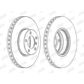 Bremsscheibe Bremsscheibendicke: 30mm, Lochanzahl: 5, Ø: 324mm mit OEM-Nummer 34.11.1.165.859