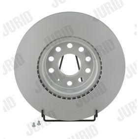 Bremsscheibe Bremsscheibendicke: 25mm, Lochanzahl: 5, Ø: 312mm mit OEM-Nummer 5Q0615301F