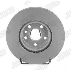 Bremsscheibe Bremsscheibendicke: 28mm, Lochanzahl: 5, Ø: 300mm mit OEM-Nummer 7G91 1125-EA
