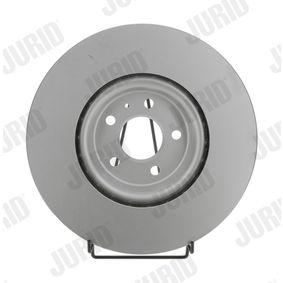 Bremsscheibe Bremsscheibendicke: 34mm, Lochanzahl: 5, Ø: 349mm mit OEM-Nummer 4M0615301AB