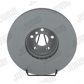 Bremsscheibe Bremsscheibendicke: 36mm, Lochanzahl: 5, Ø: 348mm mit OEM-Nummer 34116860912