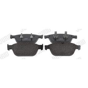 JURID  573775J Kit de plaquettes de frein, frein à disque Hauteur 1: 76,4mm, Épaisseur: 20mm