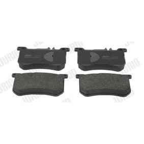 JURID  573797J Kit de plaquettes de frein, frein à disque Hauteur 1: 87,5mm, Épaisseur: 18mm