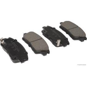 HERTH+BUSS JAKOPARTS  J3600564 Kit de plaquettes de frein, frein à disque Largeur: 61mm, Épaisseur: 17,5mm