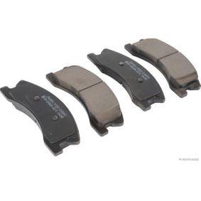 Bremsbelagsatz, Scheibenbremse Breite: 60,5mm, Dicke/Stärke: 18,4mm mit OEM-Nummer 5093 260AA